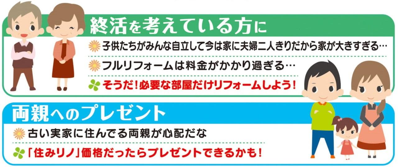 住みながらリフォームできる『住みリノ』体験住宅!!